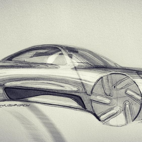 another member of #porsche family, not sure if it enough #911 though. #cayman maybe? #porschedesign #carsketch #carstyle #cardesign #sketch #drawing #car #coupe
