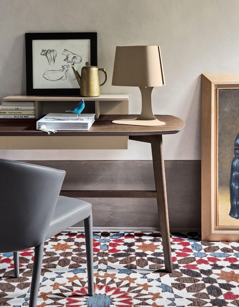 Bureau Design | Un Bureau Design Pour Un Espace De Travail Style Elle Decoration