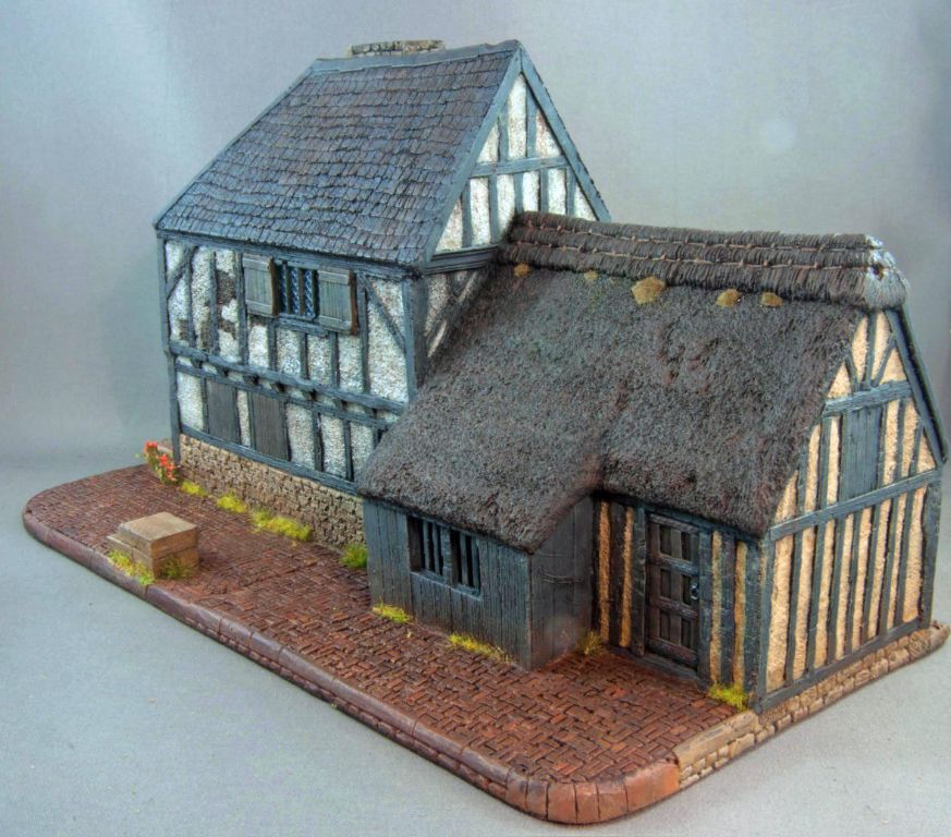 Hudson Amp Allen 25mm Scale Model Late Medieval Village Set