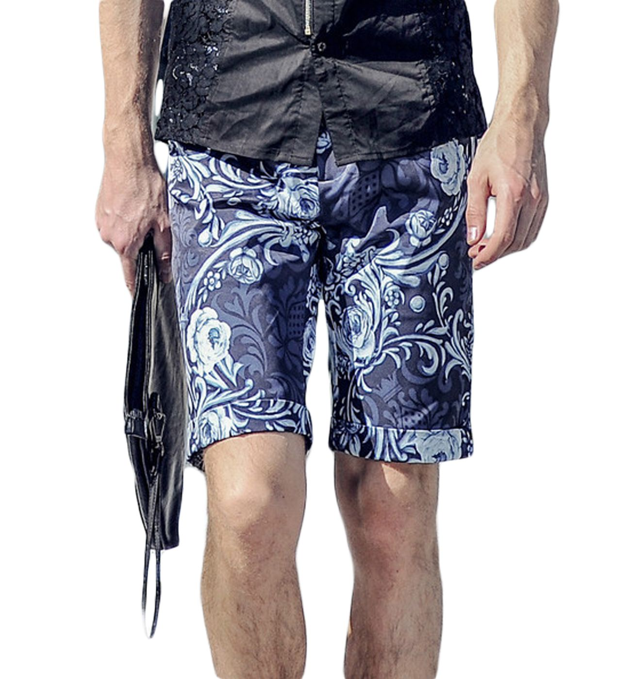 Mens Patterned Shorts Awesome Decoration