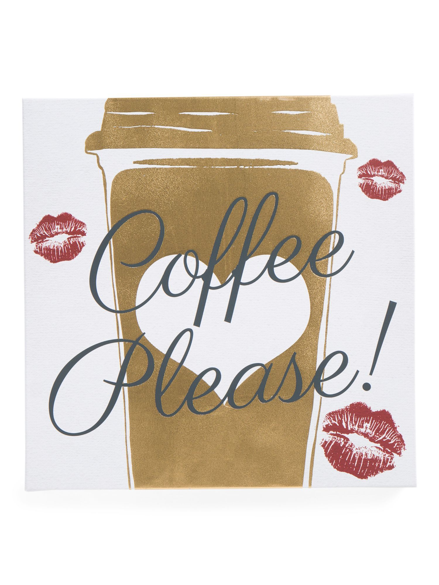 X coffee please canvas wall art products pinterest