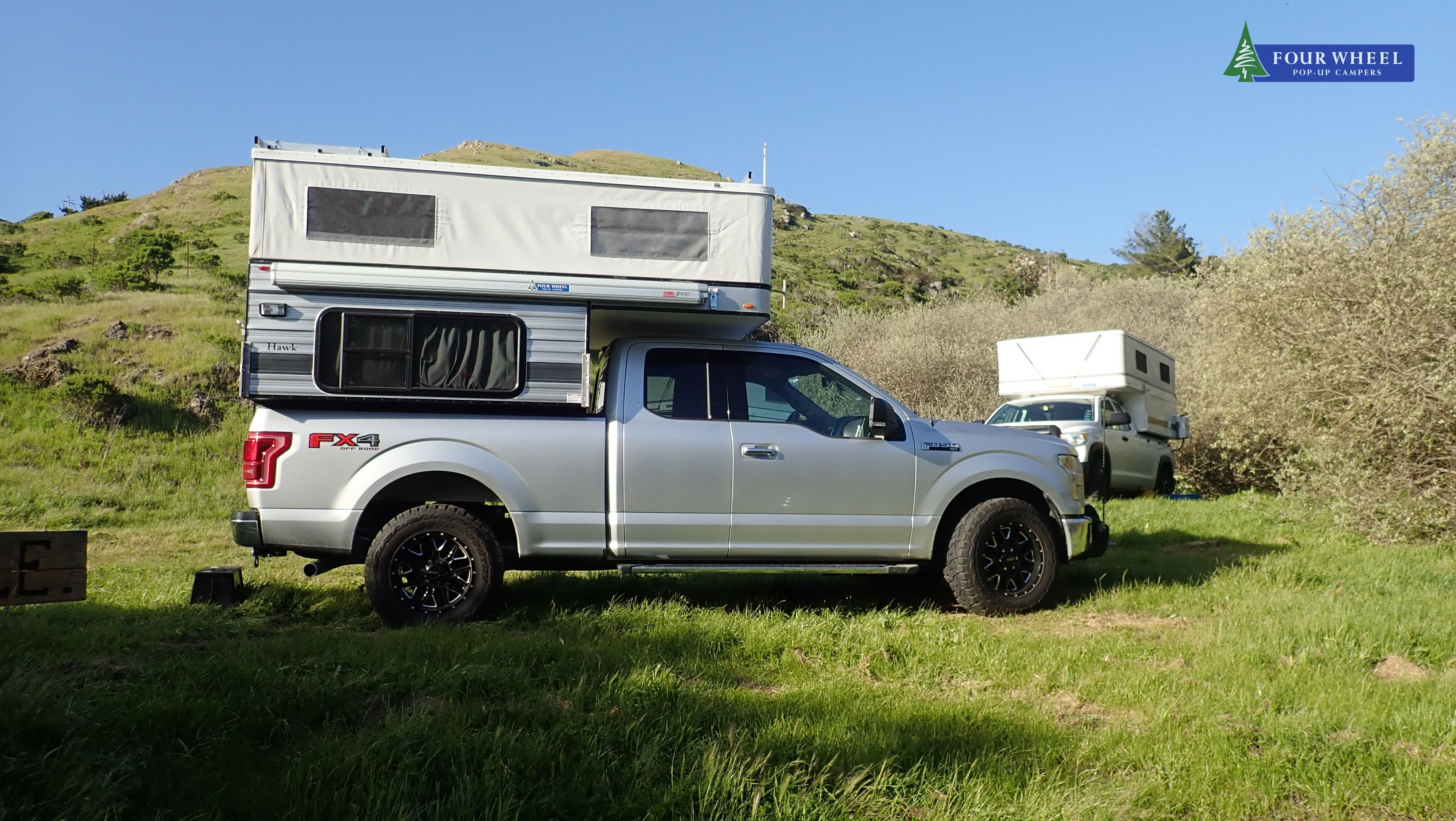 Remote Camping With A Friend Fourwheelcampers Fwc