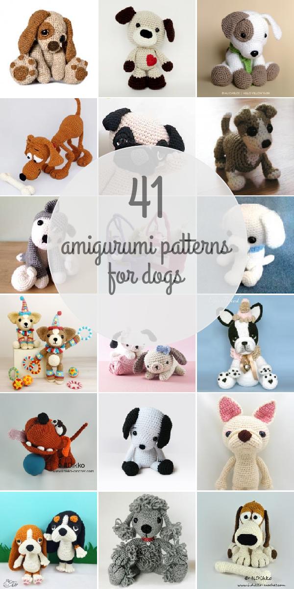 Amigurumi Patterns For Dogs   Crochet toys   Pinterest   Patrones ...