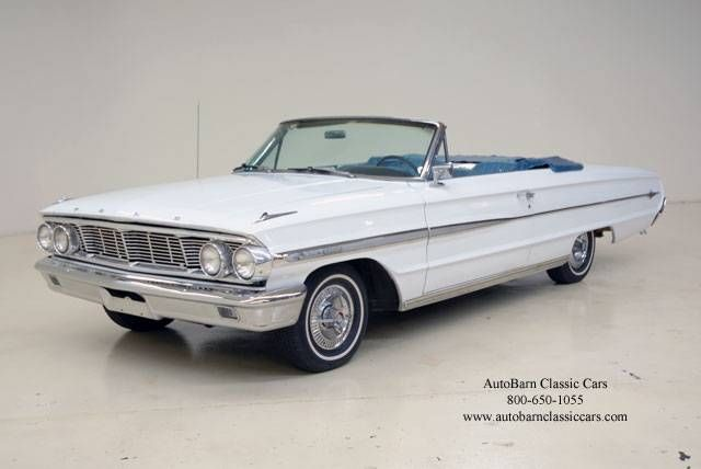 1964 Galaxie 500 Xl Ford Turquoise And White Ford Galaxie Classic Cars Usa American Classic Cars