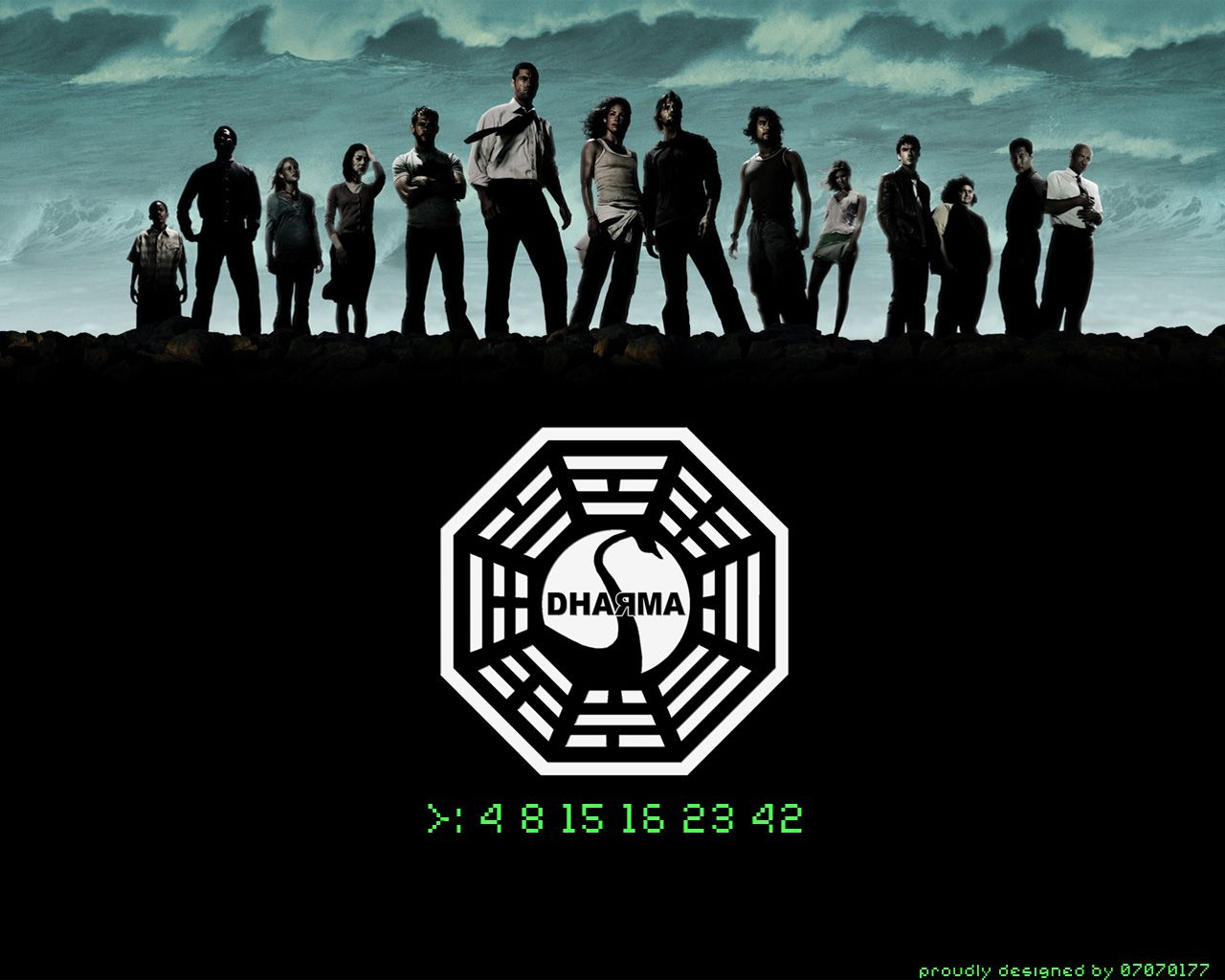 Lost Numbers 4 8 15 16 23 42 Dharma Dharma Initiative Full