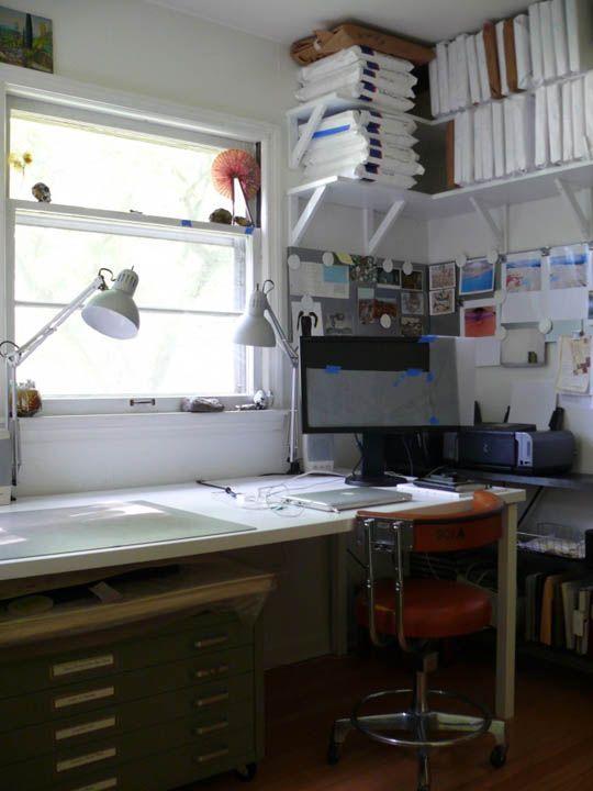 Lovely art studio