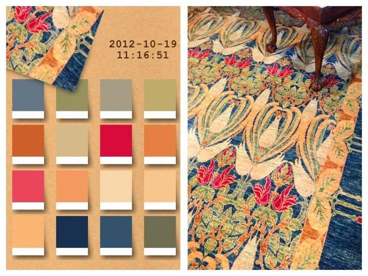 art nouveau color palette here 39 s the palette of the. Black Bedroom Furniture Sets. Home Design Ideas