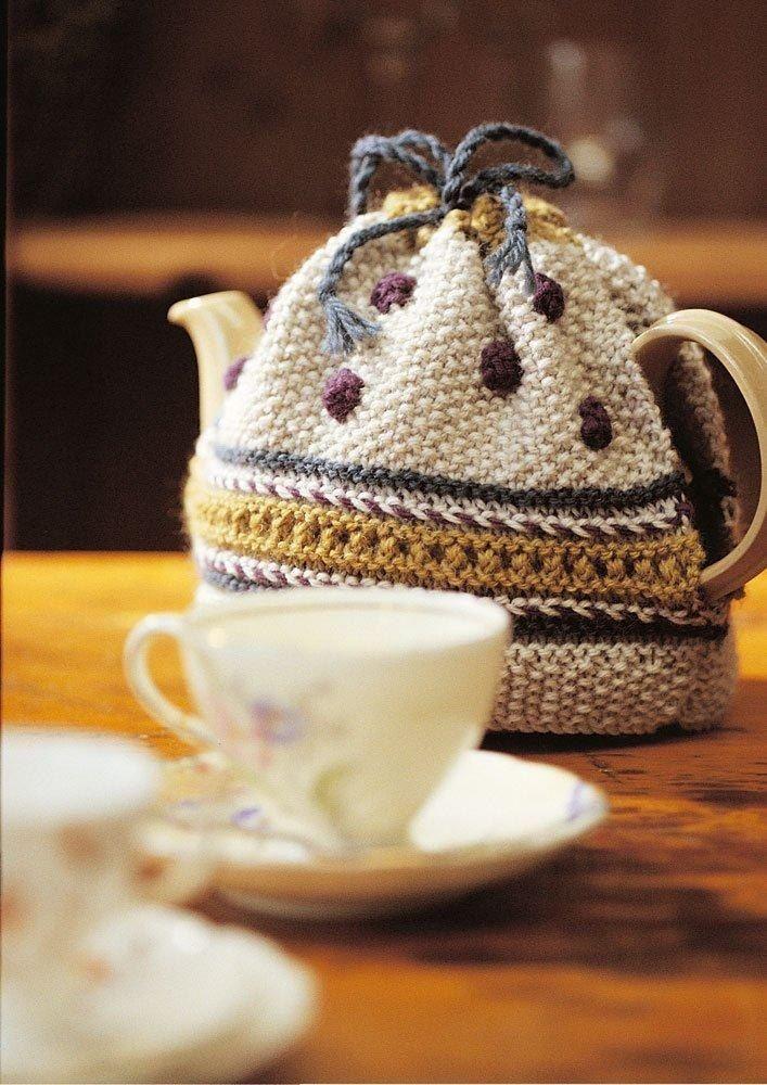 Tea Cosy Easy Knitting pattern for beginners by Jo Sharp | Knitting ...