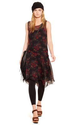 Silk Floral Sleeveless Dress - Polo Ralph Lauren Short Dresses - Ralph Lauren Germany