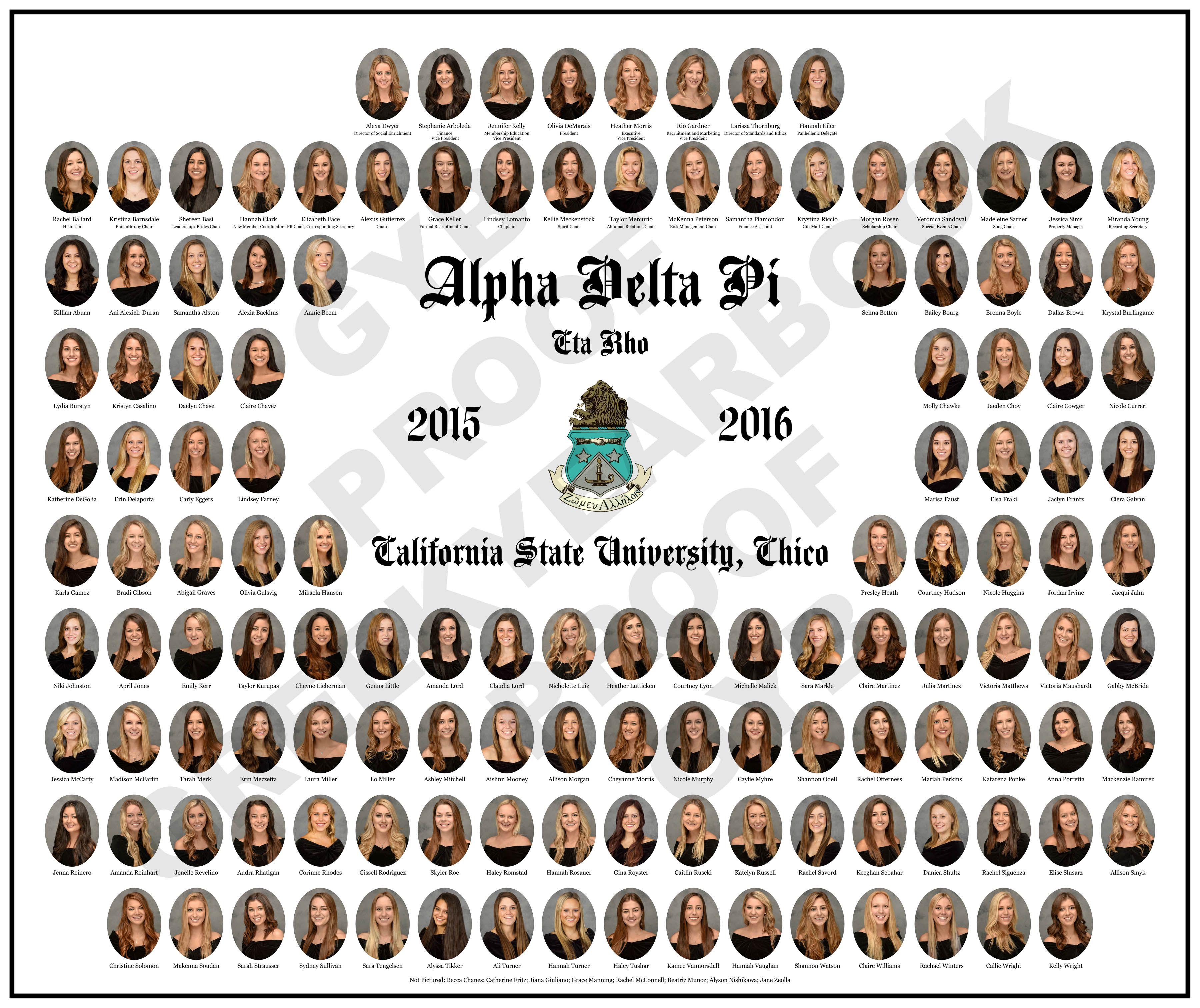 CSU Chico Alpha Delta Pi | GYB Composites & Portraits | Pinterest ...