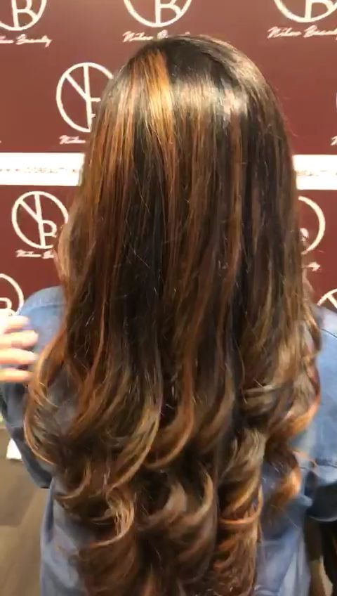 Loving My New Hair Color! Balayage Ind Indianhair - Hair Beauty