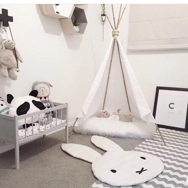 Nouvelle arriv e belle lapin tapis de jeu couverture jeu for Belle chambre bebe