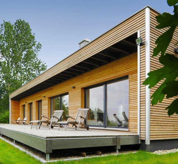 Fertighaus Bungalow Holz Preise: Baufritz, Design, Design-Bungalow, Designhaus, Designhaus