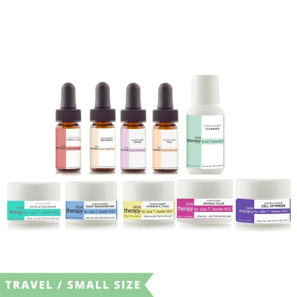 Skin care products skin therapy with images skin