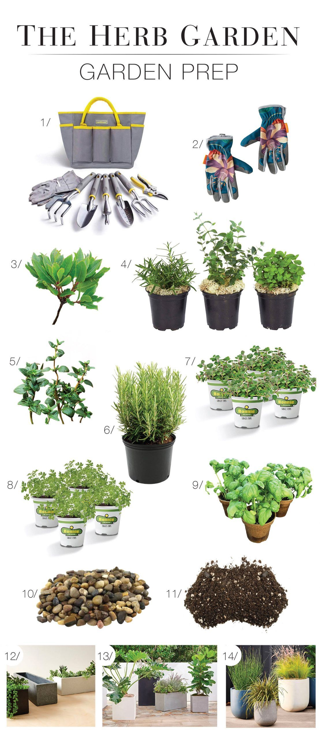 Homegrown: Easy Kitchen Herb Garden Ideas