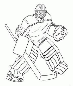 Coloriage Hockey.Pin By Dmitrius On Coloring For Kids Pinterest Hockey Coloriage