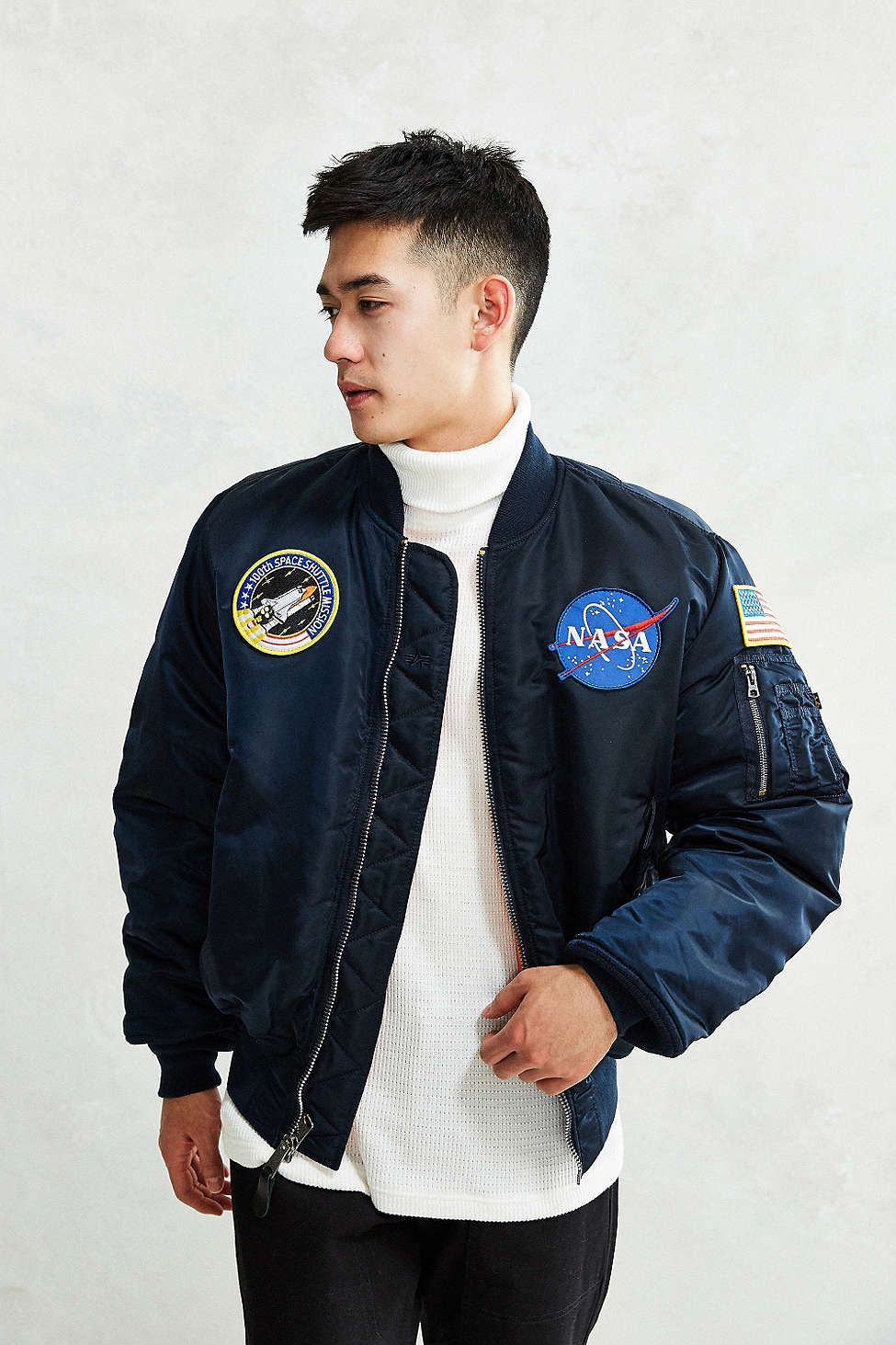 Alpha Industries NASA Bomber Jacket | Awesome stuff, Men's ...