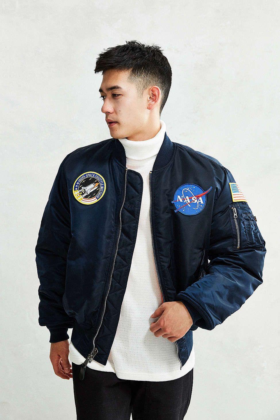Alpha Industries NASA Bomber Jacket | Awesome stuff, Men's ...