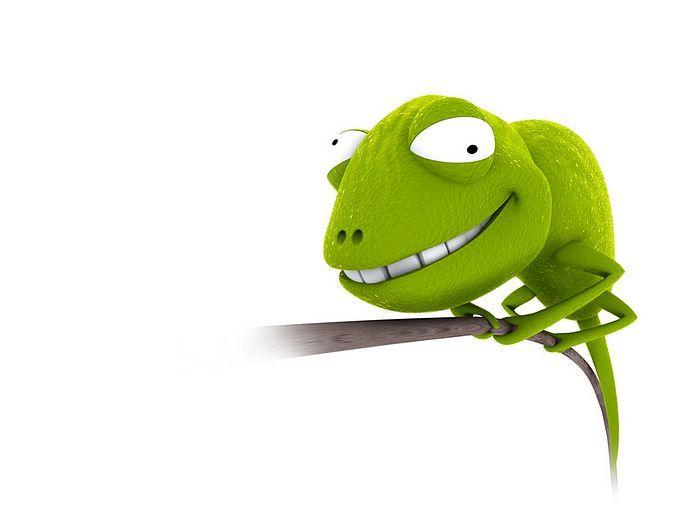 3d Chameleon Funny 3d Cartoon Chameleon Wallpaper 10 Wallcoo Net Funny Cartoon Images Funny Cartoon Pictures Funny Animals