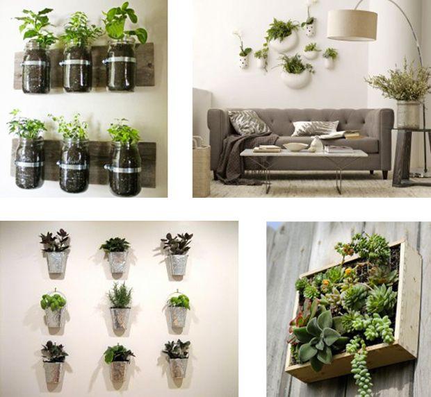 Idée déco  aménager un petit jardin dans son appartement Jardin