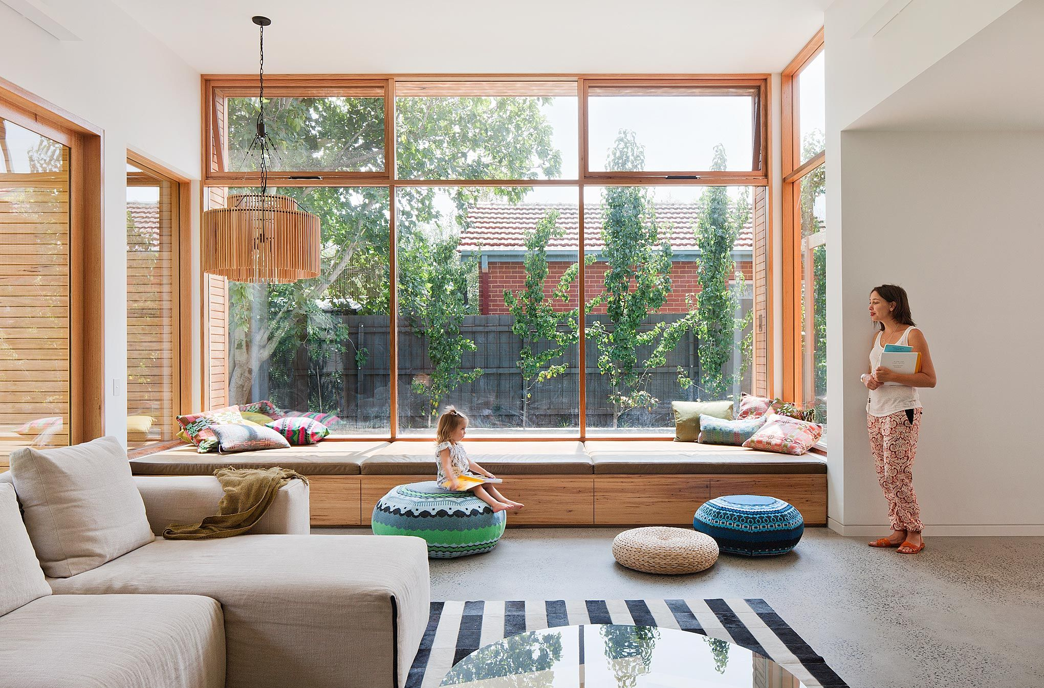 Bg Architecture Balaclava Interior Window Sitting Bench Wood Light Cool Living Room Window Design Ideas Inspiration Design