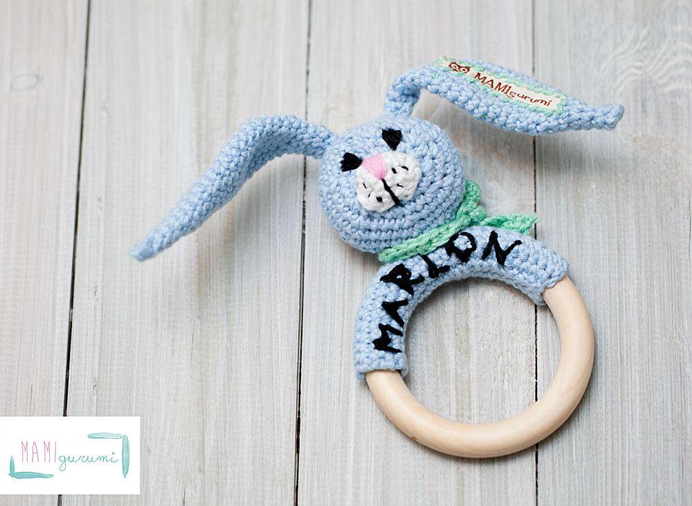 Anleitung Für Eine Hasen Rassel Crochet Pinterest Häkeln
