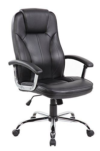 Anji High Back Big and Tall Leather Executive Office Desk Chairs