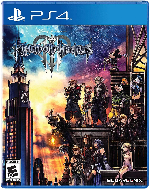 Kingdom Hearts Iii Playstation 4 Kingdom Hearts Kingdom Hearts 3 Ps4 Games