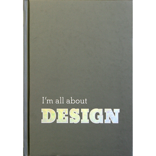 I'm all about DESIGN notebook