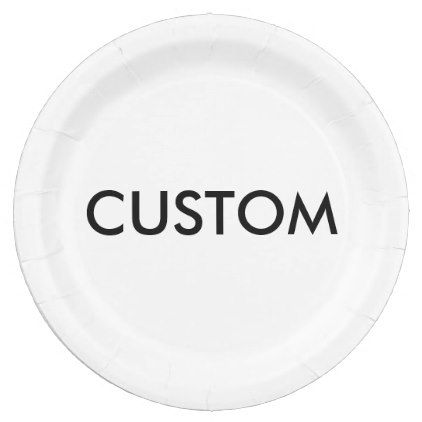 #createyourown #customize - #Custom Personalized Paper Plate Blank Template  sc 1 st  Pinterest & createyourown #customize - #Custom Personalized Paper Plate Blank ...