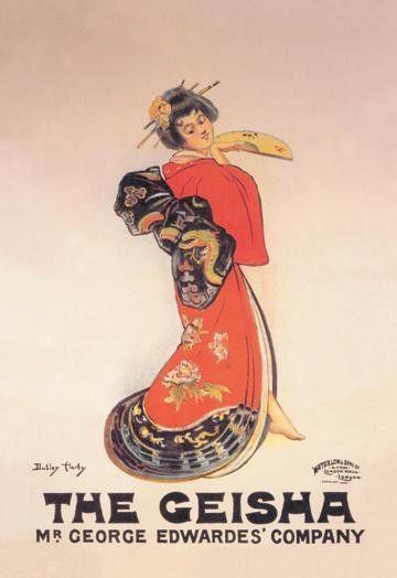 The Geisha: Mr. George Edwardes' Company 20x30 poster