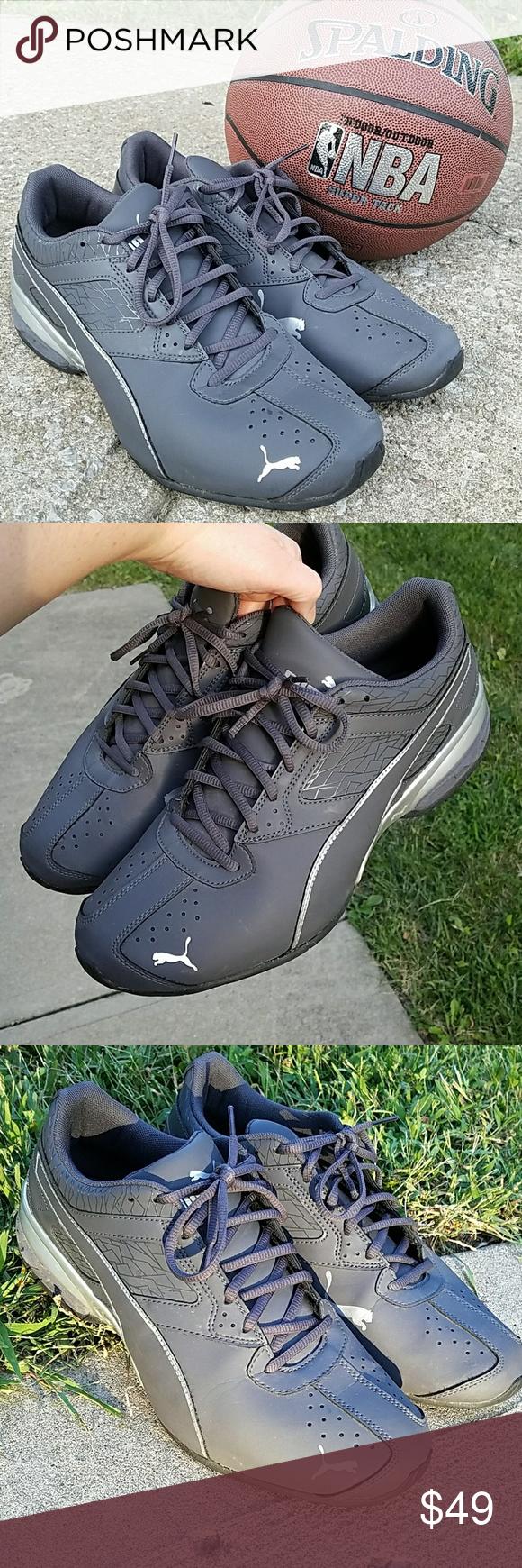 37f68f5e7879 ... Puma Mens Tazon 6 Fracture FM Running Shoes Mens gray Puma running shoes .