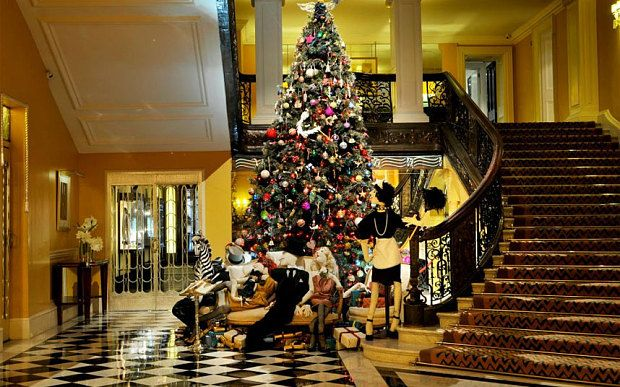 Best London hotels for Christmas lunch
