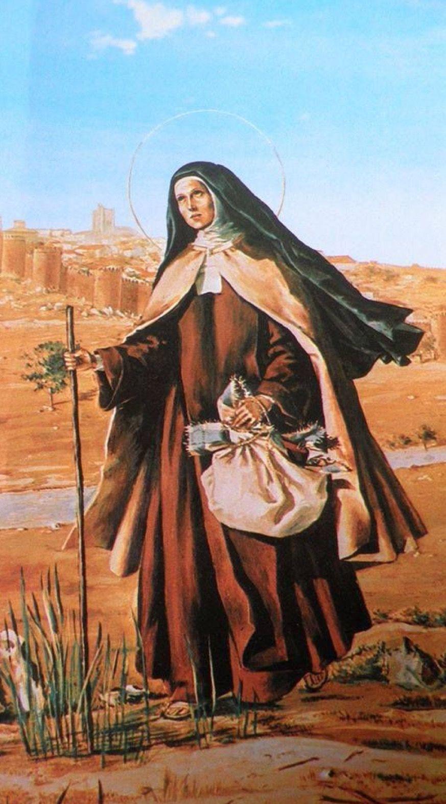 Pin De Bárbara Roble En Santa Teresa De Jesús Santa Teresita De Lisieux Teresita De Lisieux Teresa De Avila
