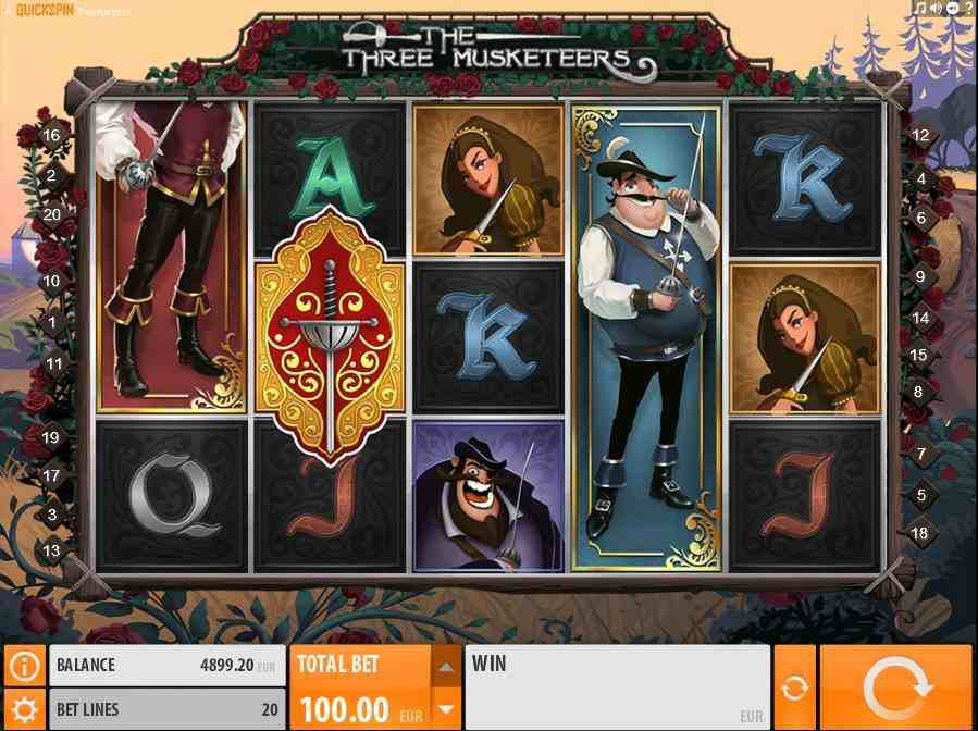 Musketeer No Download Slot