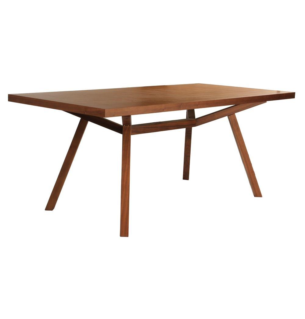 Original Sean Dix Forte Timber Dining Table Matt Blatt