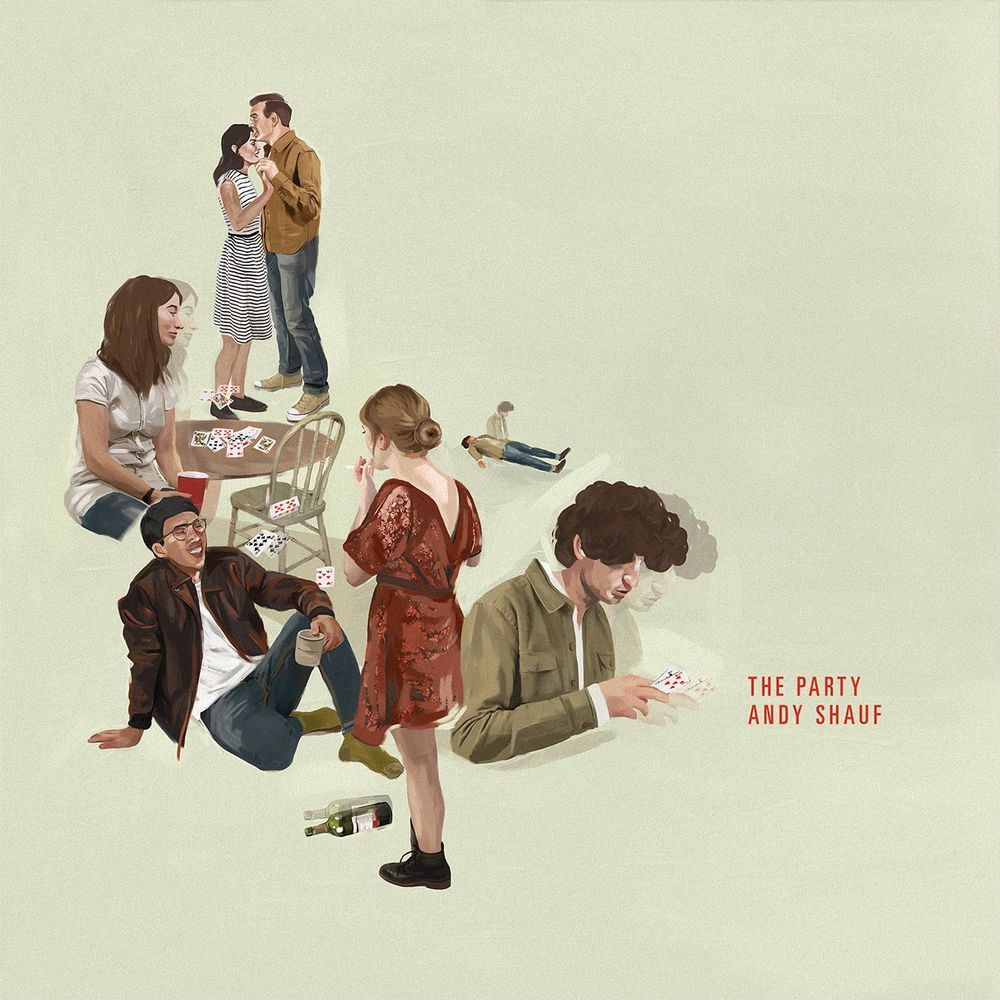 """Andy Shauf, """"The Party"""" (2016) #обложкаальбома"""