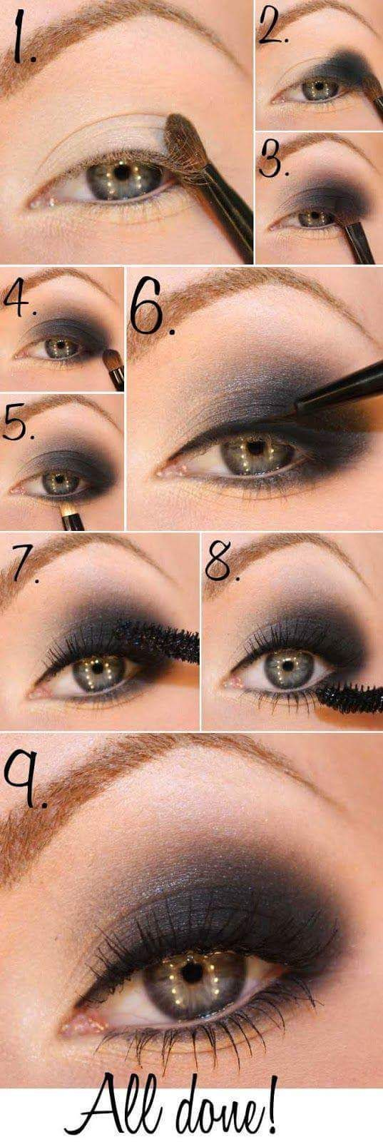 Photo of 15 Smokey Eye Tutorials – Step by Step Guide to the Perfect Hollywood …