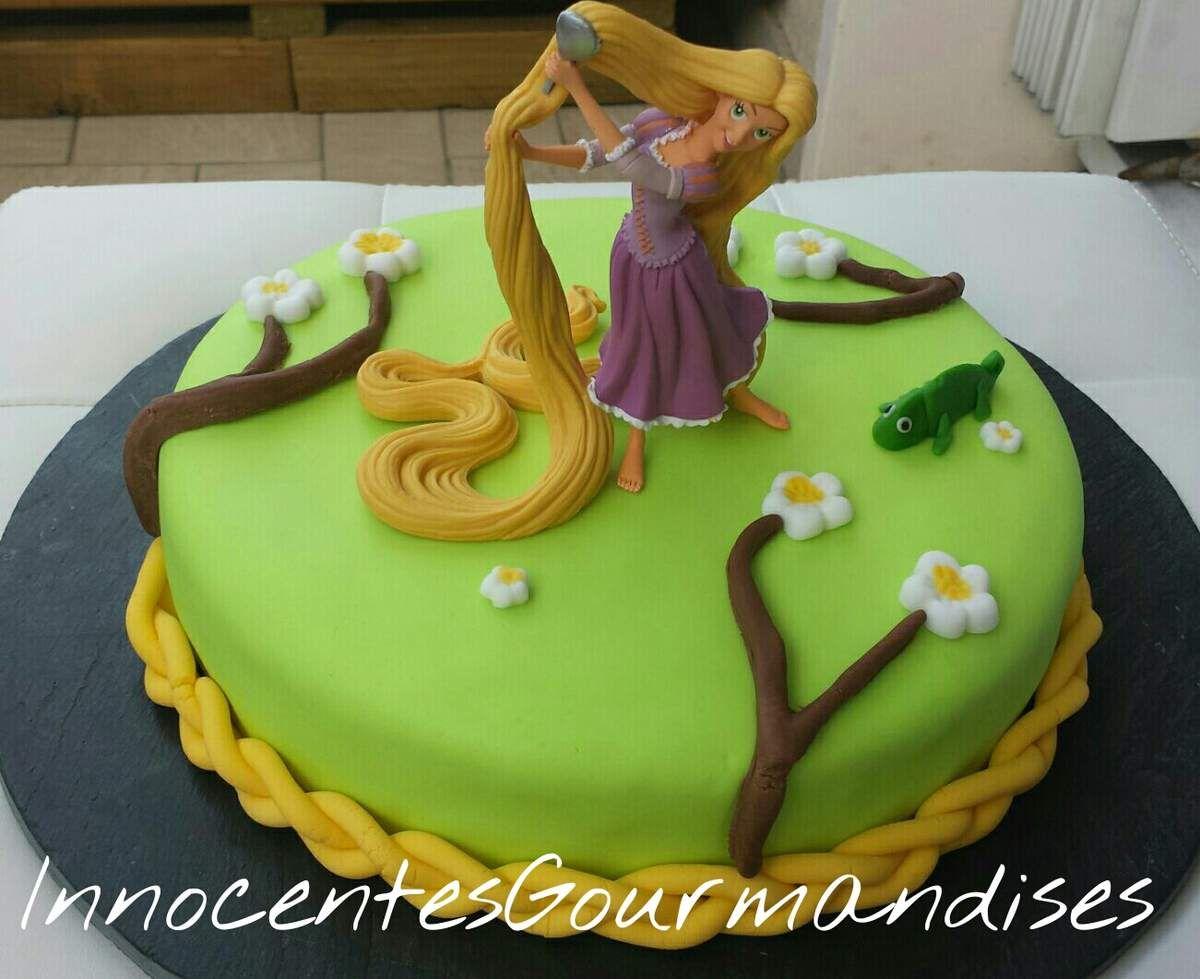 Gâteau 3D Thème : Raiponce