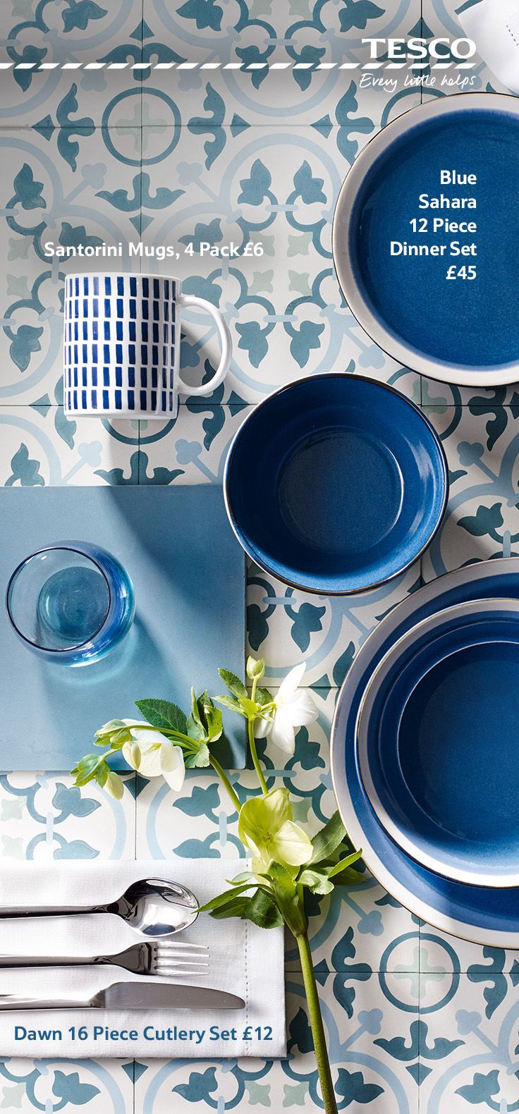 Refresh your kitchen for summer with a range of gorgeous blue hues ...