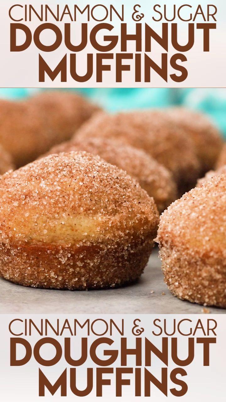 Cinnamon Sugar Donut Muffins Donut muffins are a s