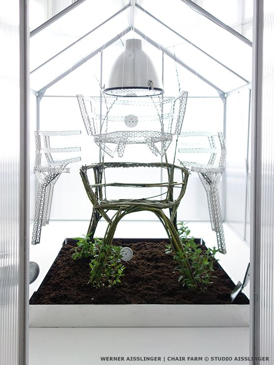 Chair farm by Studio Aisslinger