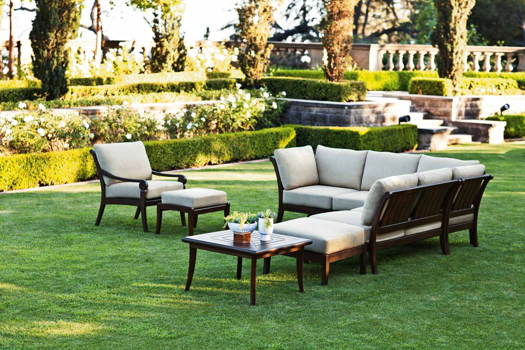 Outdoor Living Room This Outdoor Space Is Complete With A