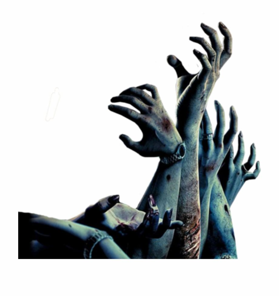 Png Zombie Hand Zombie Hand Hand Silhouette Zombie