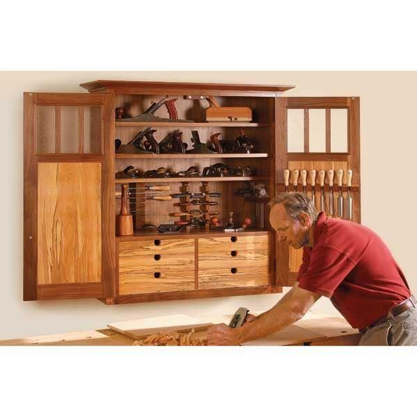 Buy Fine Woodworking High Style Tool Cabinet - Paper Plan at ...
