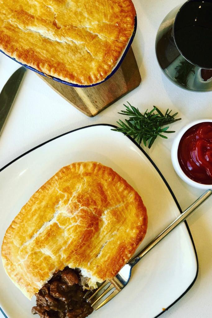 Australian Meat Pie   Recipe in 2020   Recipes, Meat pie ...