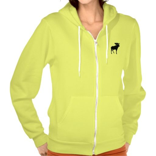 Moose Silhouette Sweatshirts