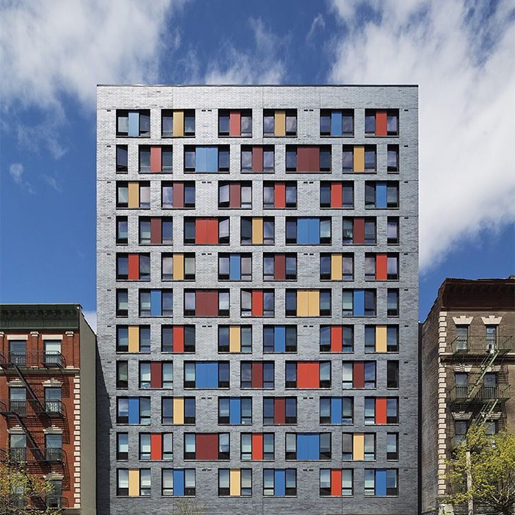 Low Income Apartments Nyc: New York Studio Alexander Gorlin Architects Has Completed