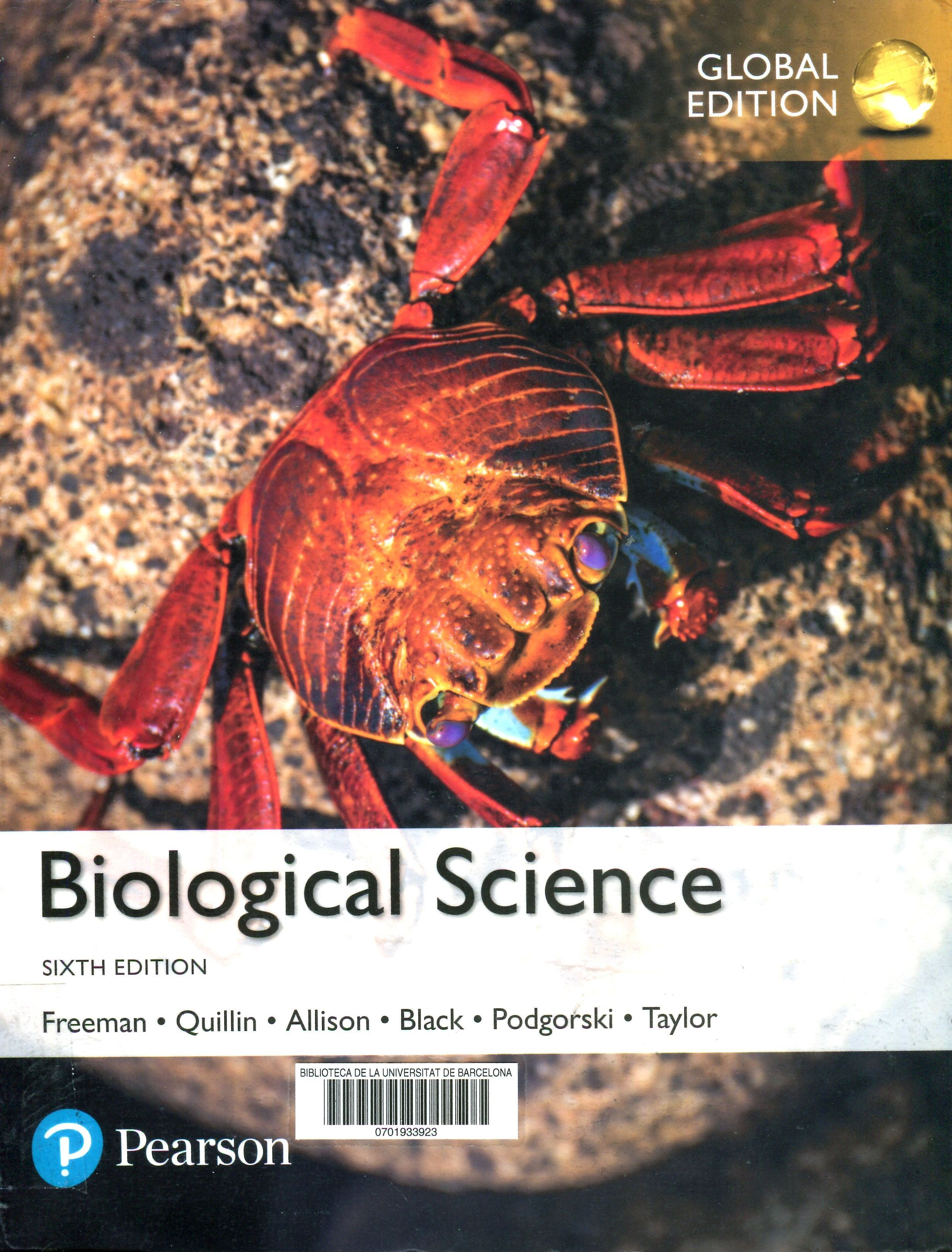 Biological Science Scott Freeman I 6 Mes Es