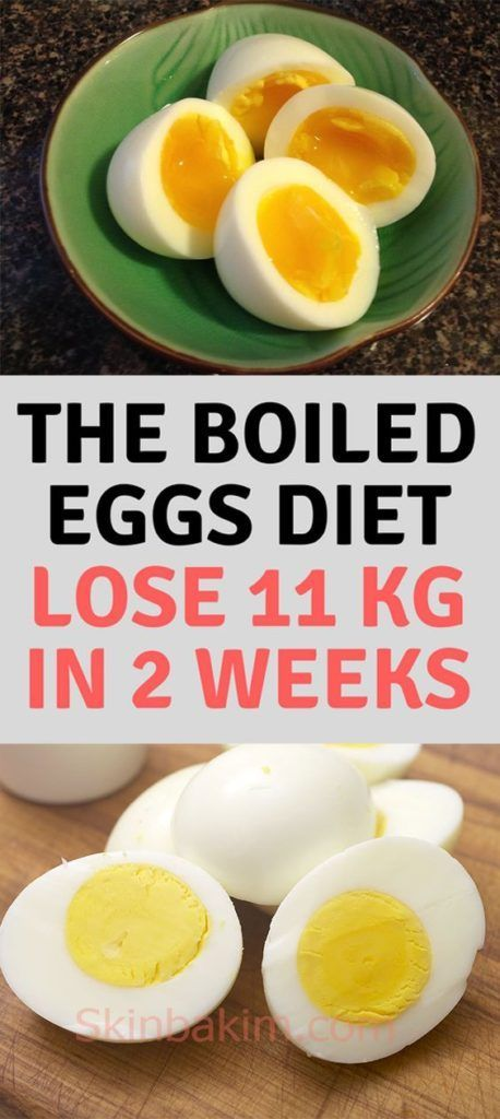 THE BOILED EGGS DIET: Lose 11 kg In 2 Weeks! | Beauty ...